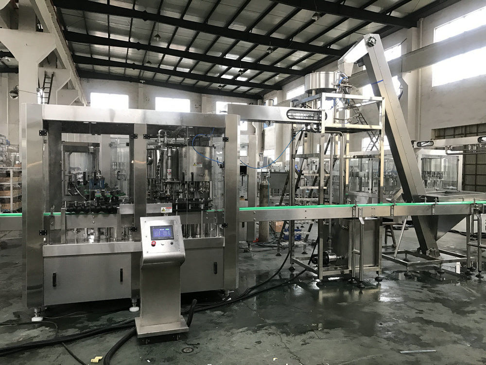 Industrial Dropper Bottle Filling Machine / Gravity Bottle Filling Capping Machine